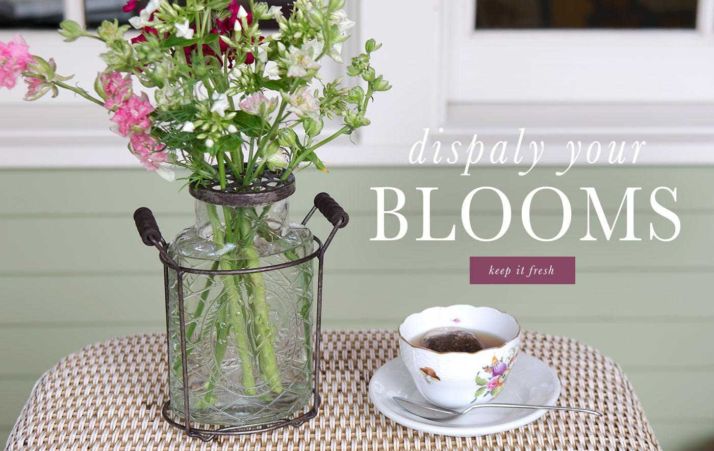 Display Your Blooms
