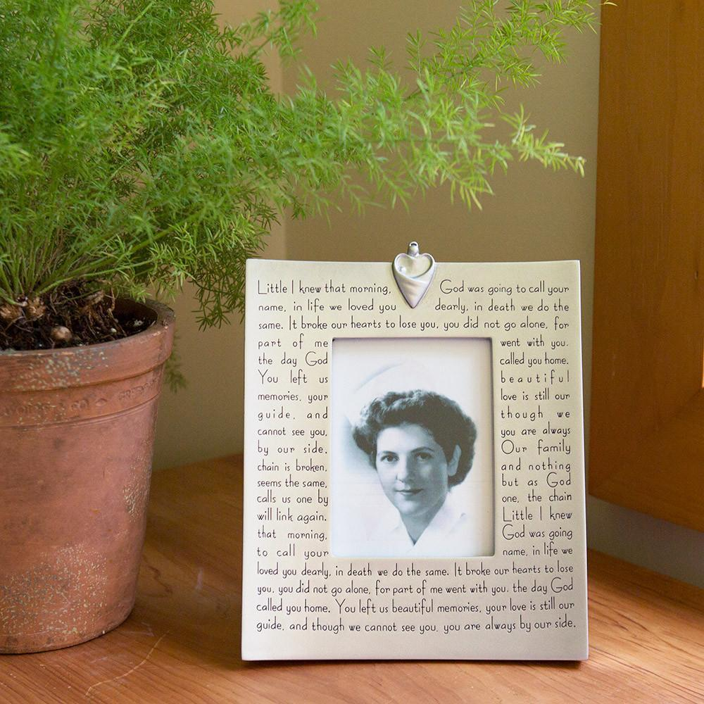 Memorial in Picture Frame - Isabella
